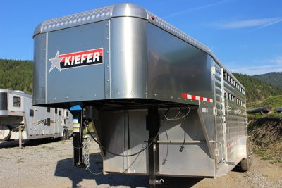 Kiefer Deluxe Ii 20ft Stock Trailer 2018 Available In 8