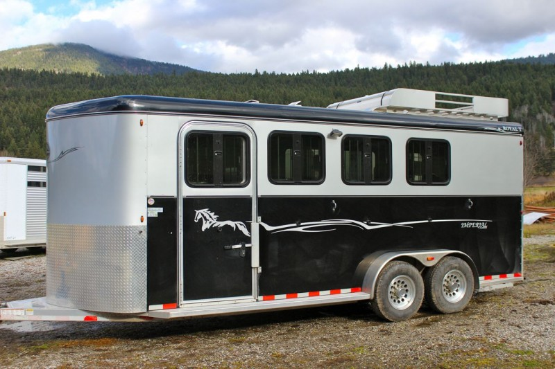 Royal T Imperial Deluxe 4 Horse Trailer 2012